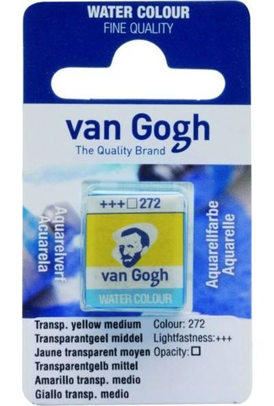 Talens Van Gogh 1/2 Tablet Sulu Boya 272 Transparent Yellow Medium