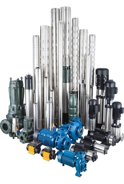 Crı Dalgıç Motor 4 Komple Paslanmaz Çelik Su Soğutmalı Tip 10 Hp 380 v