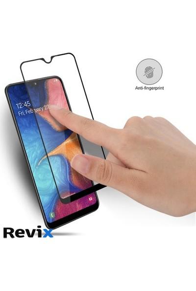 Revix Samsung Galaxy M30 Tam Kaplayan 5D Nano Glass Esnek Ekran Koruyucu