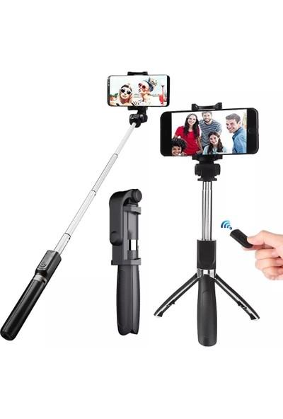 Kyrotech Tripod Kumandalı Bluetooth Selfie Çubuğu