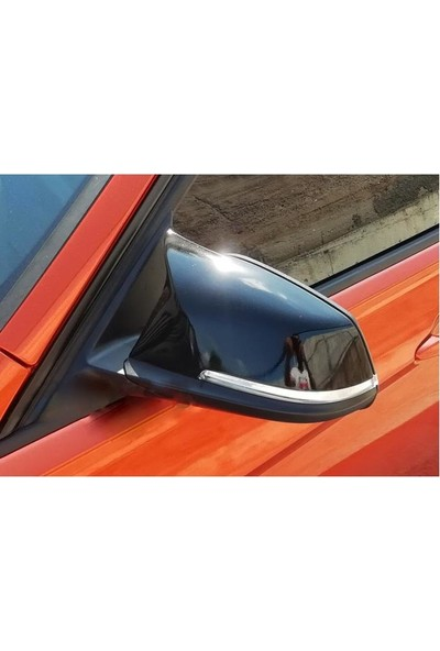 BTG BMW F20 - F30 Uyumlu Yarasa Ayna Kapağı Piano Black