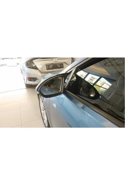 BTG Volkswagen Golf 7 - 7,5 Batman Ayna Kapağı Parlak Siyah