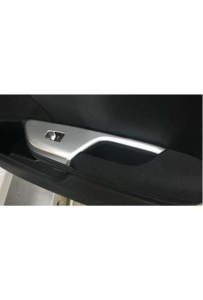 BTG Honda Civic Fc5-Fk7 Uyumlu Kapı Kolçak Kaplaması (Silver)