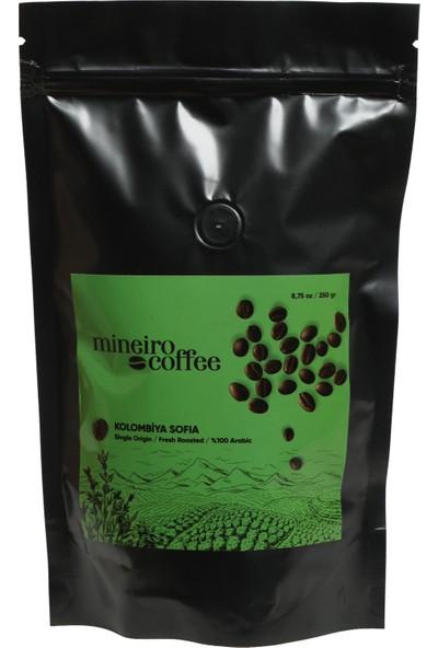 Mineiro Coffee Kolombiya Sofia Supremo Filtre Kahve 250 gr. Moka Pot