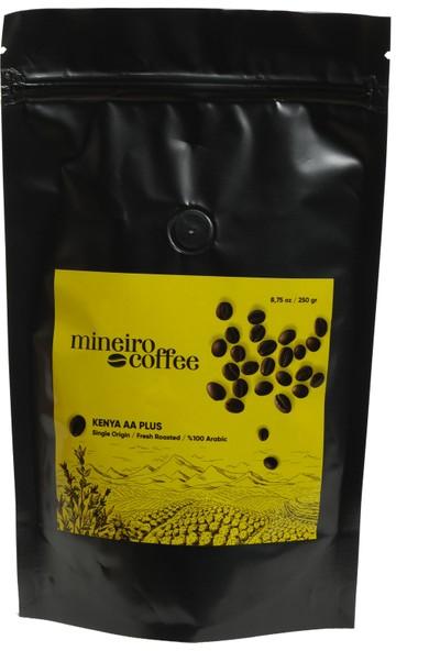 Mineiro Coffee Kenya AA+ Superior Filtre Kahve 250 gr. Çekirdek Kahve