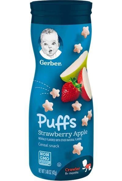 Gerber Puffs Snack Atıştırmalık - Strawberry Apple