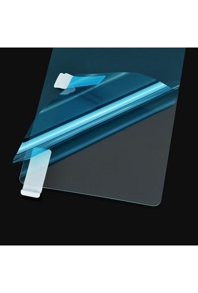 Ehr. Casper Via E3 Ultra İnce Soft Şeffaf TPU Silikon Kılıf + Nano Ekran Koruyucu Cam Şeffaf