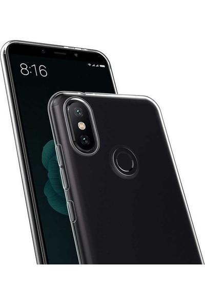 Ehr. Huawei Honor 20 Ultra İnce Soft Şeffaf TPU Silikon Kılıf + Nano Ekran Koruyucu Cam Şeffaf