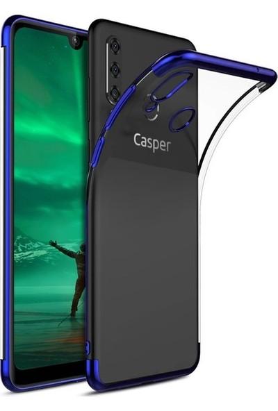 Ehr. Casper Via F3 Plating 3D Lazer Kaplama Kılıf Mavi
