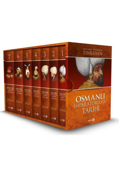 Osmanlı İmparatorluğu Tarihi 7 Cilt Takım Kutulu - Johann Wilhelm Zinkeisen