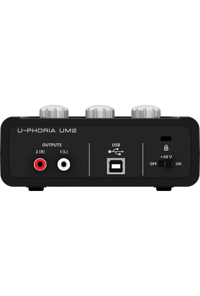 Behringer U-Phoria Studio Stüdyo Kayıt Paketi C-1 Kondenser Mikrofon + Um2 Ses Kartı + HPS5000 Stüdyo Kulaklık