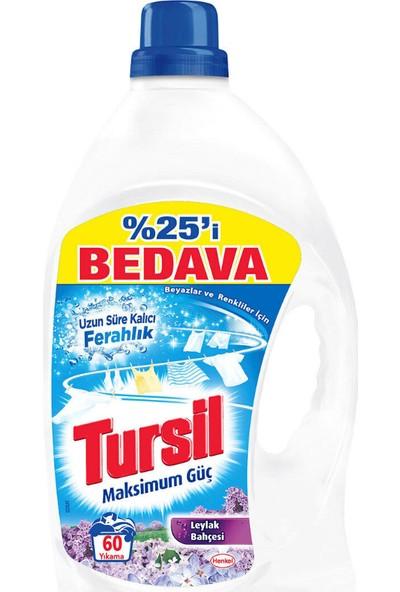 Tursil Sıvı Çamaşır Deterjanı 60 Yıkama