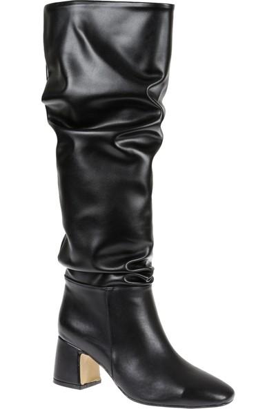 Shalin Kadın Çizme 10100 Siyah