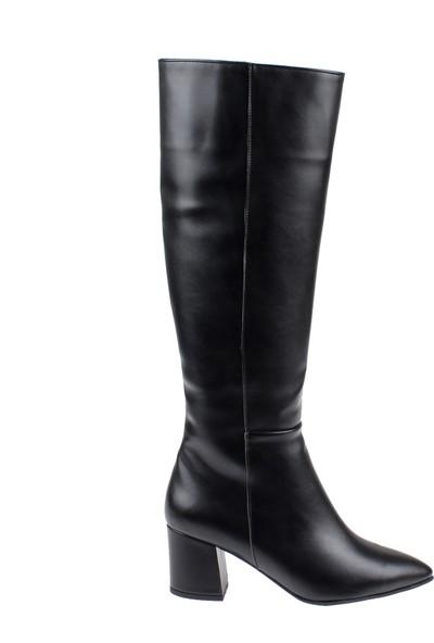 Shalin Kadın Çizme 10700 Siyah
