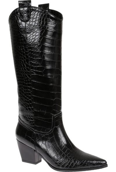 Shalin Kadın Çizme 11 Siyah