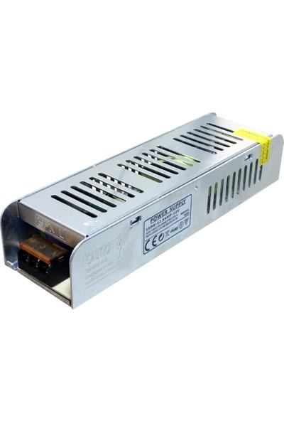 KUANTUM 12 V 150 W 12,5 A LED Trafosu Güç Kaynağı