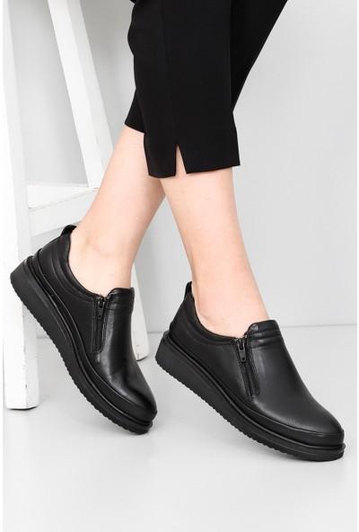 Gön Hakiki Deri Kadın Ayakkabı 77043