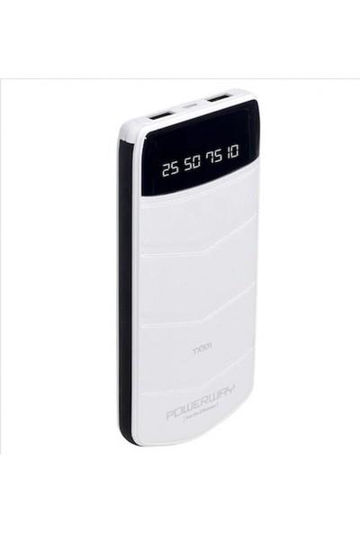 Powerway TX-101 10.000 mAh Dijital Ekran Taşınabilir Şarj Cihazı