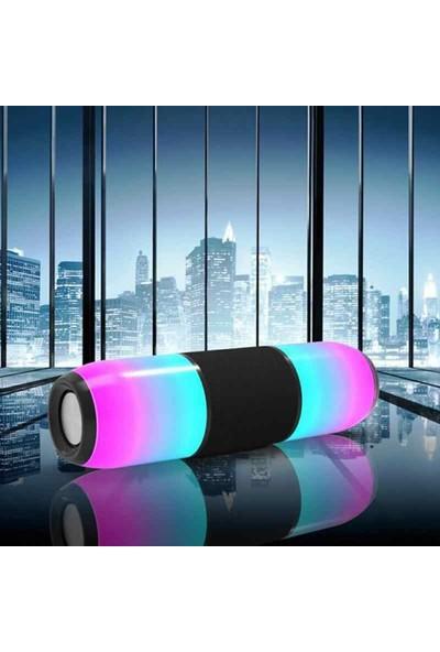 Tigdes ME6 Işıklı BT/USB/SD Speaker