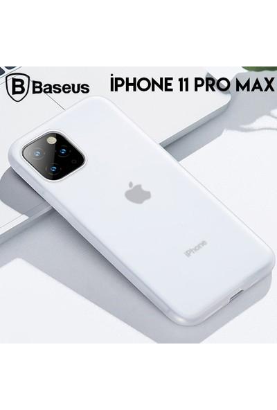 Baseus WIAPIPH65S-GD02 Jelly Liquid Silica Gel Apple iPhone 11 Pro Max Sıvı Silikon Kılıf Şeffaf