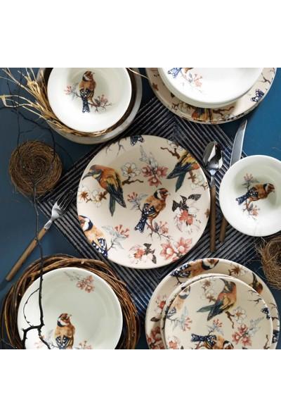 Kütahya Porselen 9019 Desen 24 Parça Yemek Takımı