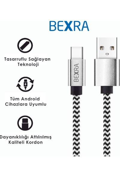 Bexra Type-C 2.1A Data ve Şarj Kablosu 2 mt