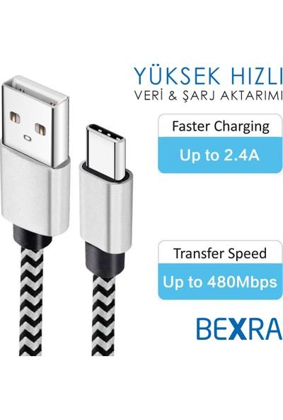 Bexra Type-C 2.1A Data ve Şarj Kablosu 1 mt