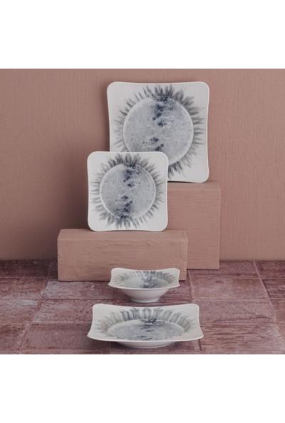 Güral Porselen Spinoza 24 Parça Yemek Takımı GBSSPN24Y41018902