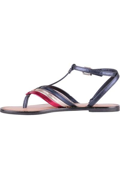 Tommy Hilfiger Kadın Sandalet Fw0Fw02818-020