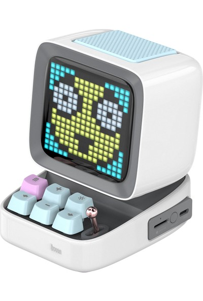 Divoom Ditoo Beyaz Bluetooth Hoparlör