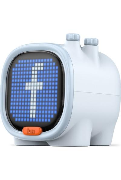 Divoom Timoo Beyaz Bluetooth Hoparlör