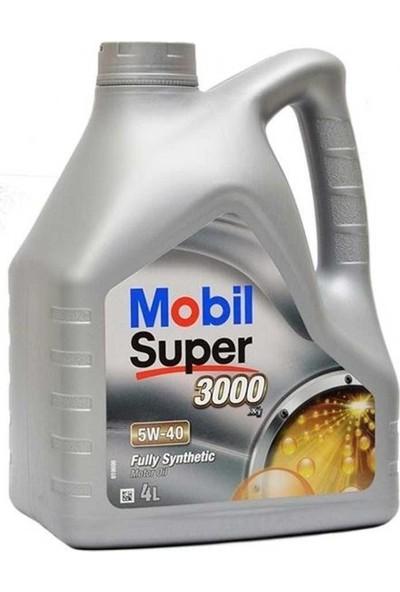 Mobil Süper 3000 X1 5W-40 4 Litre Benzinli Dizel Lpg Motor Yağı