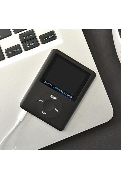 Kensa Dijital Ekranlı 8GB Mp4 Player - Siyah