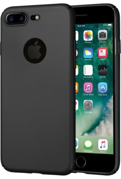 Lorexpress Apple iPhone 8 Plus Premium Rubber Mat Silikon Kılıf- Siyah