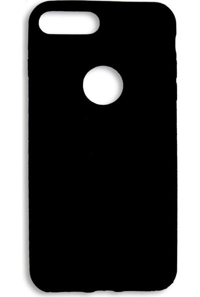Lorexpress Apple iPhone 7 Premium Rubber Mat Silikon Kılıf- Siyah