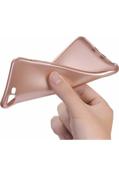 Lorexpress Apple iPhone 11 Premium Rubber Mat Silikon Kılıf- Gold