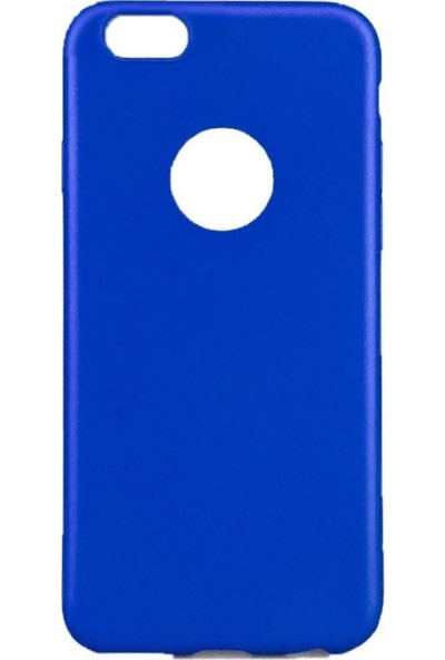 Lorexpress Apple iPhone 5/5S/5SE Premium Rubber Mat Silikon Kılıf- Mavi