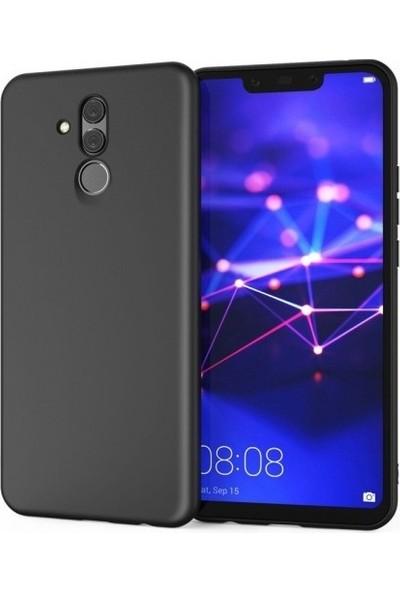 Lorexpress Huawei Mate 20 Lite Premium Rubber Mat Silikon Kılıf- Siyah