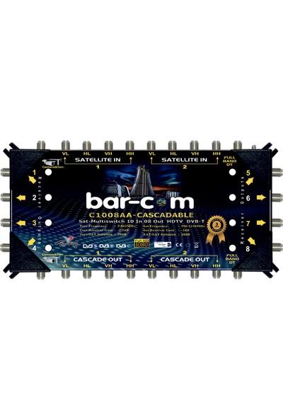 Barcom 10/8 Kaskat Multiswitch Uydu Santrali
