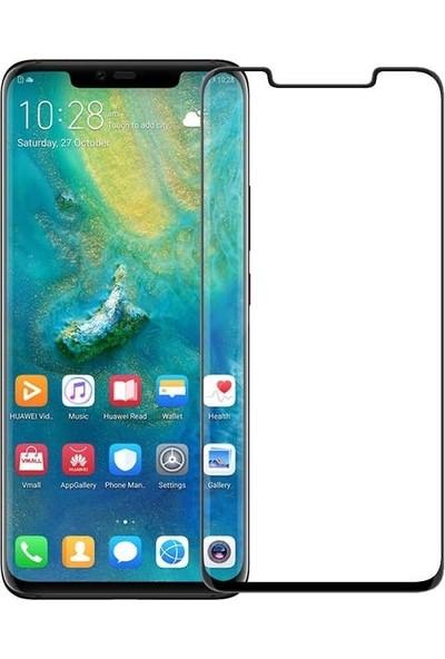 Teleplus Huawei Mate 20 Pro 5D Ön Arka Tam Kapatan Cam Ekran Koruyucu Siyah