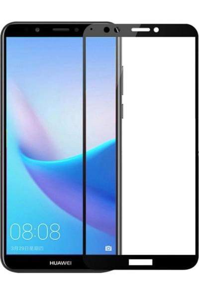 BlitzPower Huawei Y7 2018 6D Tam Kaplayan Nano Glass Nano Ekran Koruyucu