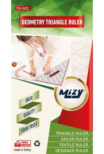 Mizy Geoderik Üçgen Cetvel / TR-500