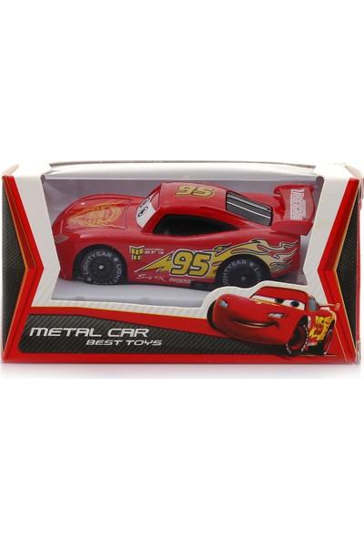 Buldum Cars Şimşek Mcqueen Mini Metal Araba