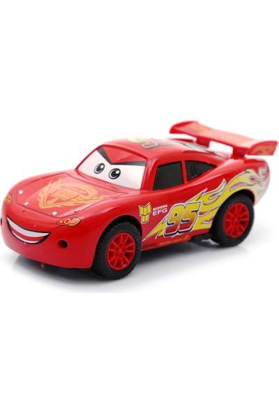 Buldum Cars Şimşek Mcqueen Çek Bırak Metal Araba