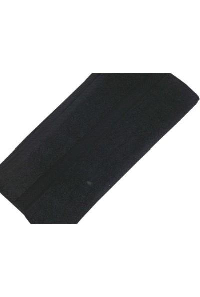 Özbal 12'li Renkli Kuaför Havlusu Siyah Havlu
