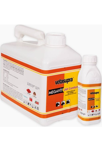 Tarım Garaj Vetasupra Megavit Vitamin ve Aminoast Takviyeli Hayvan Yem Katkısı 5 kg