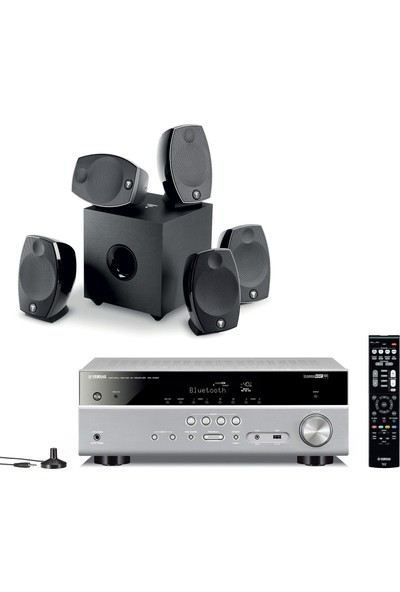 Yamaha & Focal 5.1 Sinema Sistemi