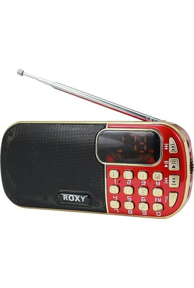 Roxy RXY-2020 FM/SD/USB Pilli Şarjlı Radyo