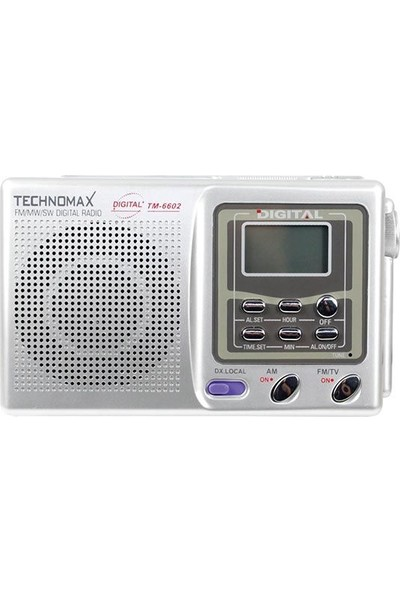 Technomax TM-6602 Radyo
