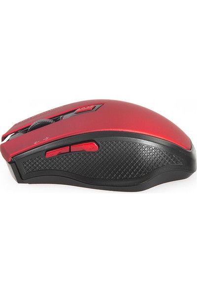 Everest W777 USB 2.4Ghz Optik Wireless Mouse Kırmızı